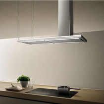 Island range hood / original design / with built-in lighting