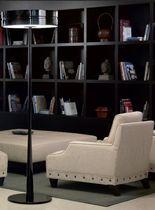 Floor-standing lamp / contemporary / wooden