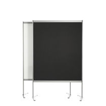 White board / black / freestanding / self-supporting
