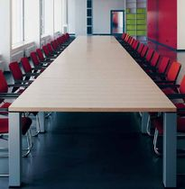 Conference table / contemporary / wooden / commercial