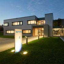 Urban bollard light / contemporary / aluminum / LED