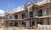 Polypropylene waterproofing membrane / for walls