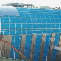 Aluminum vapor barrier / for roofs
