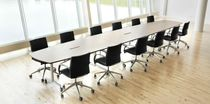 Boardroom table / contemporary / ABS / solid wood