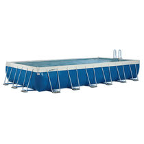 above-ground metal frame swimming pool EUROPEGOLD LAGHETTO