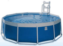above-ground metal frame swimming pool OMEGA LAGHETTO