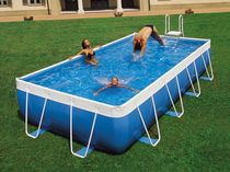 above-ground metal frame swimming pool AZUR 2000 LAGHETTO