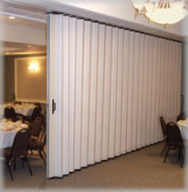 acoustic folding partition TRANZFORM® SOUND MODEL ESP20 Cornell Iron works