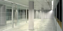 acoustic glass sliding partition  Adotta Italia srl