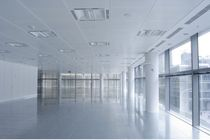 acoustic metal suspended ceiling (Lay-In tiles, exposed grid) SYSTEM 130 SAS International