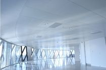 acoustic metal suspended ceiling (modular Hinge-Down tiles, concealed grid) SYSTEM 150 SAS International