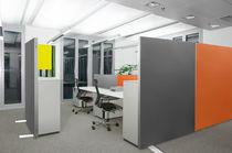 acoustic mobile partition SILENT.LINE.XPLUS UNI Recytex GmbH & Co. KG