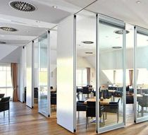 acoustic mobile partition  Invotek Partitioning Systems