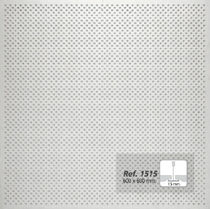 acoustic perforated gypsum plasterboard REF. 1515 Prefaes