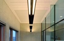 acoustic suspended ceiling tile in plaster  Gemino