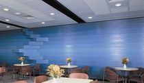 acoustic suspended ceiling tile in plaster GYPTONE&reg; BASE 31 Certain Teed