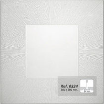 acoustic suspended ceiling tile in plaster REF. 0424 Prefaes