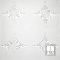 acoustic suspended ceiling tile in plaster REF. 1724 Prefaes