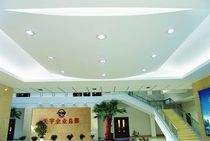 acoustic suspended ceiling tile in plaster NON-PAPER FIBER  Australia Tianyu