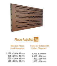 acoustic terracotta panel for facade XA FAVEMANC
