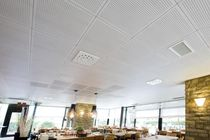 acoustic tile for suspended ceiling ODACUSTIC Oddicini Industrie S.p.A.
