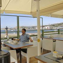 adjustable restaurant terrace screen CAFÉ AU LÄ ® Svalson