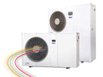 air/air air source heat pump AMBIFLO BDR Thermea