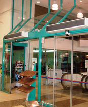 air curtain for retail use MINI OPTIMA JS Air Curtains
