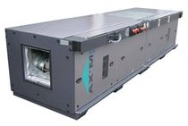 air handling unit for clean rooms AX'M INDUSTRIE :0.5 - 9m³/s HYDRONIC