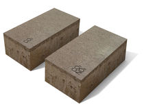 air-purifying paver (recycled materials) GEOSILEX® TRENZA METAL