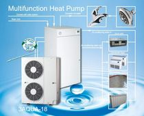 air/water air source heat pump 3AQUA-17 SPLIT ALL IN ONE Palm Air Conditioning & Equipment Co.,Ltd