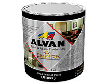 alkyd paint for interior and exterior (for wood and metal) EMPIRE ALVAN PAINT