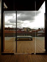 all glass swing door PITTI TERRACE ESSEMME