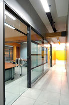 all glass swing door  FOSAM