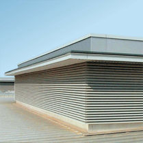 aluminium air grille HIGH PERFORMANCE VENTILATION LOUVRES Levolux