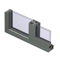 aluminium and glass sliding door CP 96 / CP 96-LS Reynaers Aluminium