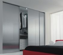 aluminium and glass sliding door for walk-in wardrobe 301 zemma srl