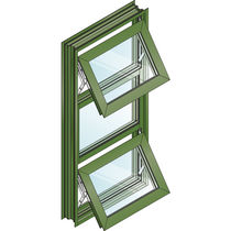aluminium awning window SERIES 2800 (NT) / SERIES 2900 (T) EFCO