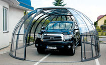 aluminium carport (polycarbonate covering) 3 SEASONS Alukov HZ