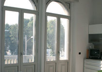 aluminium casement french window with thermal break 56IW ALUK GROUP