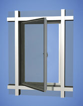 aluminium casement window YES SSG VENT YKK AP