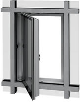 aluminium casement window with a thermal break YES SSG TU VENT YKK AP