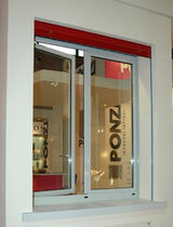 aluminium casement window with a thermal break SILENTE Ponzi s.r.l.