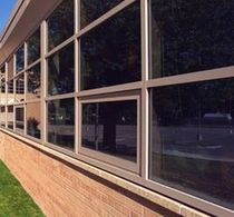 aluminium casement window with a thermal break 200T CMI Architectural Products, Inc.