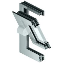 aluminium center pivot window MB-60 PIVOT Aluprof S.A