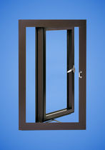 aluminium center pivot window YOW 225 H YKK AP