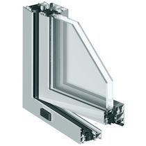 aluminium double glazed casement window with a thermal break MB-70HI Aluprof S.A