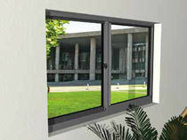 aluminium double glazed sliding window SERIES 8200 United States Aluminum