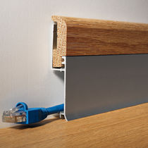 aluminium electrical skirting board BATTISCOPA BI  PROFILITEC