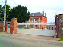 aluminium entrance gate with bars SATELLITE ® GATES INSTALLUX